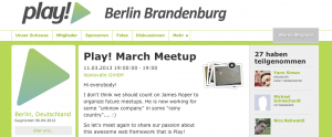 Play User Group Berlin