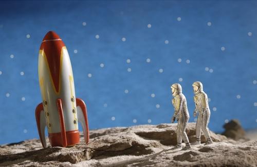 Produktvision - der Mann auf dem Mond