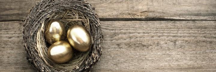 Bild goldenes Ei