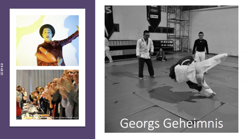 Georg's Heldenreise, CC-BY 4.0 Rolf Irion @iriOnline Original Slidedeck via: irion@outlook.com
