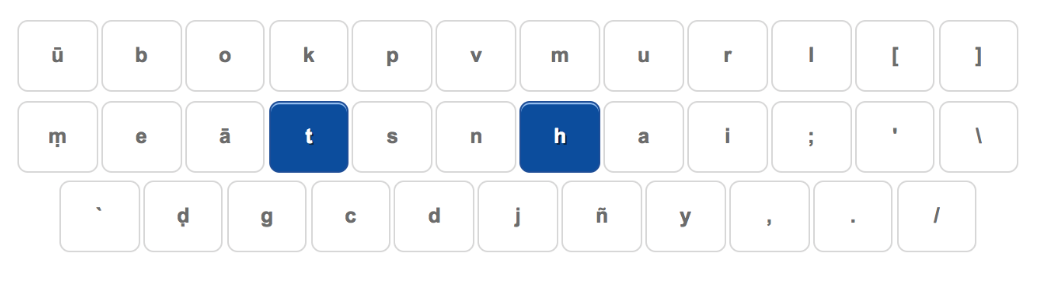 Learning how to type in Pali › leanovate - Agilität erleben