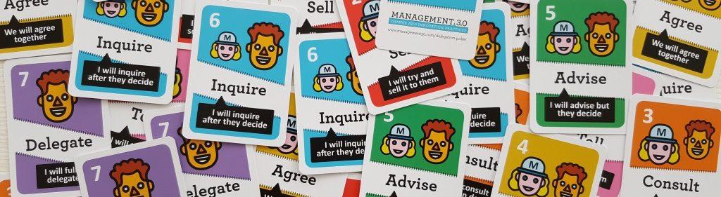 Management 3.0 Delegation Poker