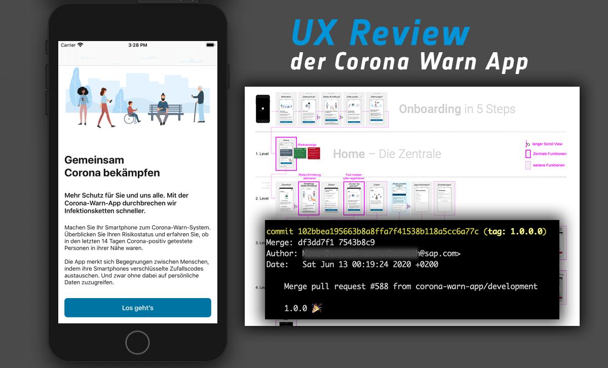UX Review der Corona Warn App – Ein erster Eindruck